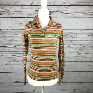 Free People Vintage 90s Does 70s Retro Shirt